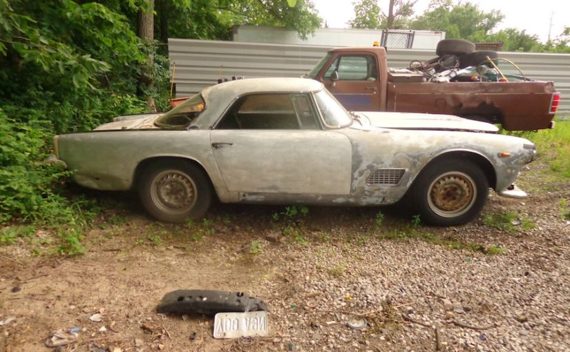 I'd just purchased a Maserati 3500GT. Now all I had to do was find it!