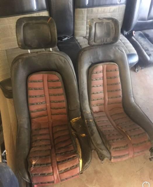 Craigslist find! Used Ferrari Daytona seats.