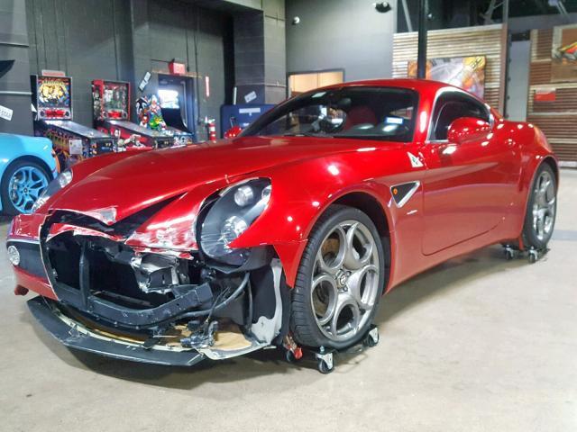 Wacked Alfa Romeo 8C Competizione!