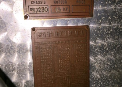 30. Chassis plate