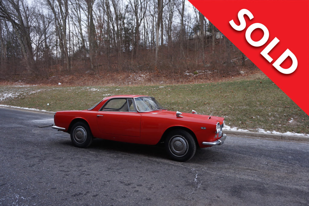 SOLD 1962 Lancia Flaminia