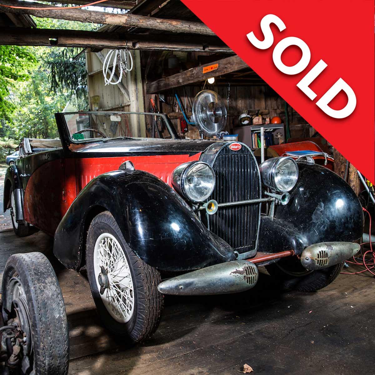 Sold – Bugatti T57 Stelvio by Gangloff