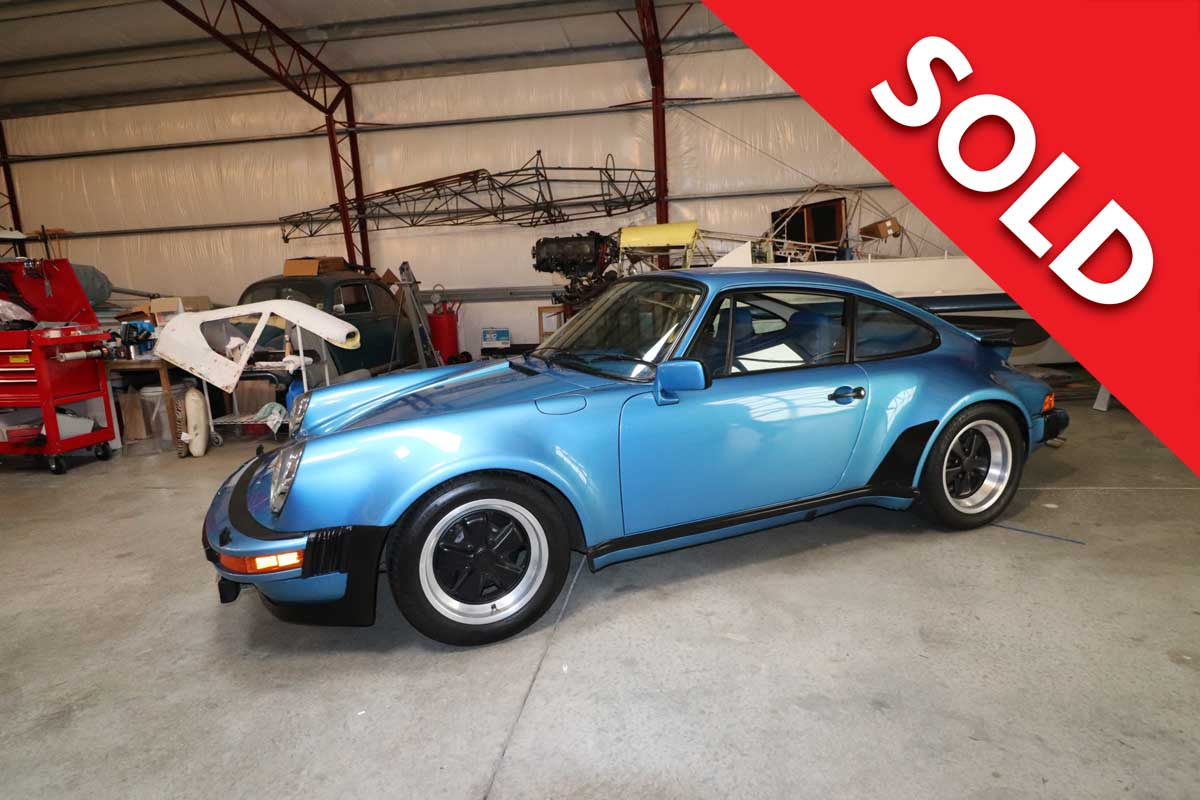 SOLD 1979 Porsche 930 Turbo