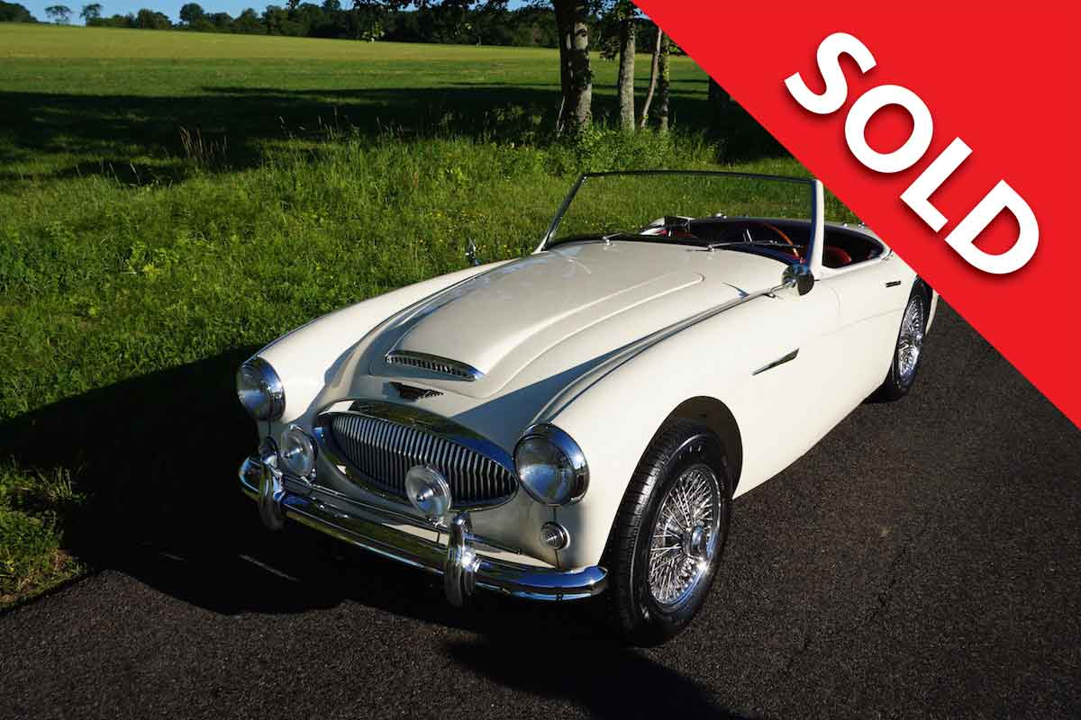 SOLD 1962 Austin Healey 3000 – 1 of 355 made