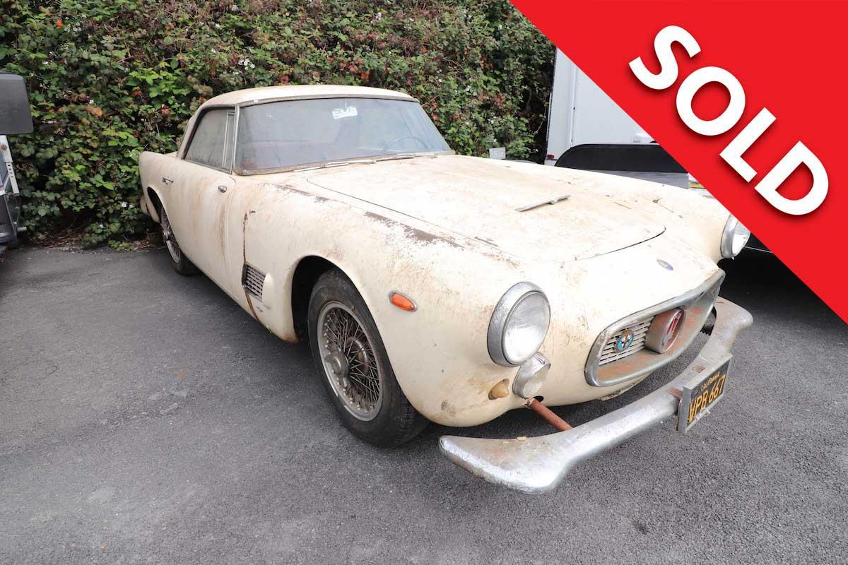 SOLD 1962 Maserati 3500GT Barn Find