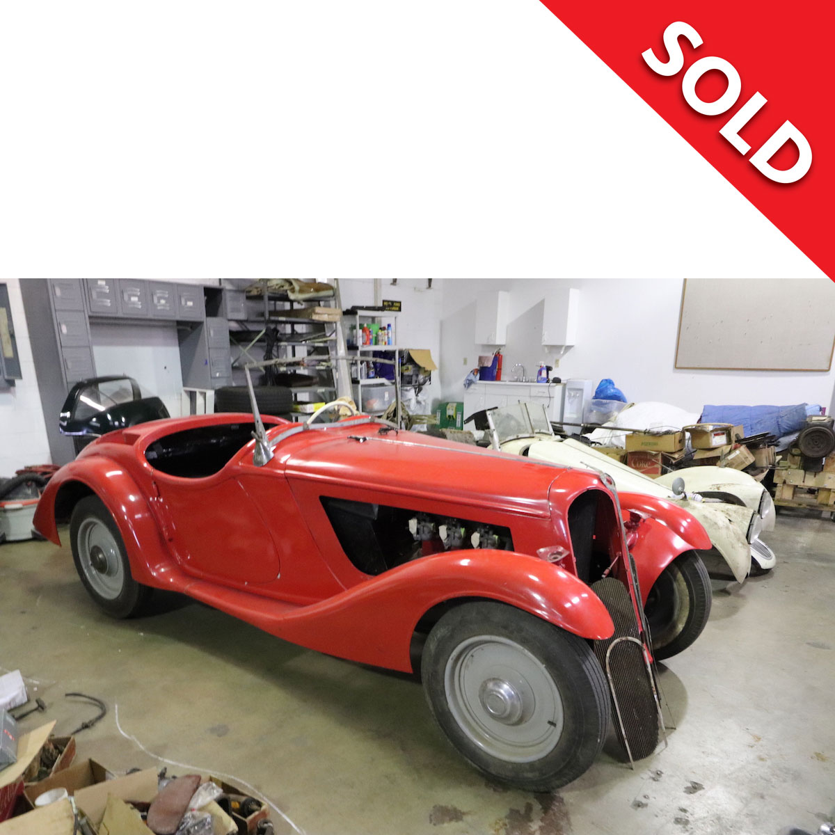 SOLD 1936 BMW 319/1 Roadster – Very rare – 1 of 178