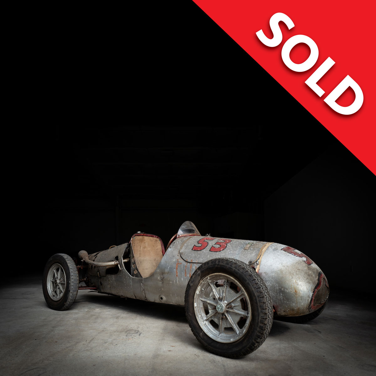 SOLD 1950 Cooper MK 4 Barn Find