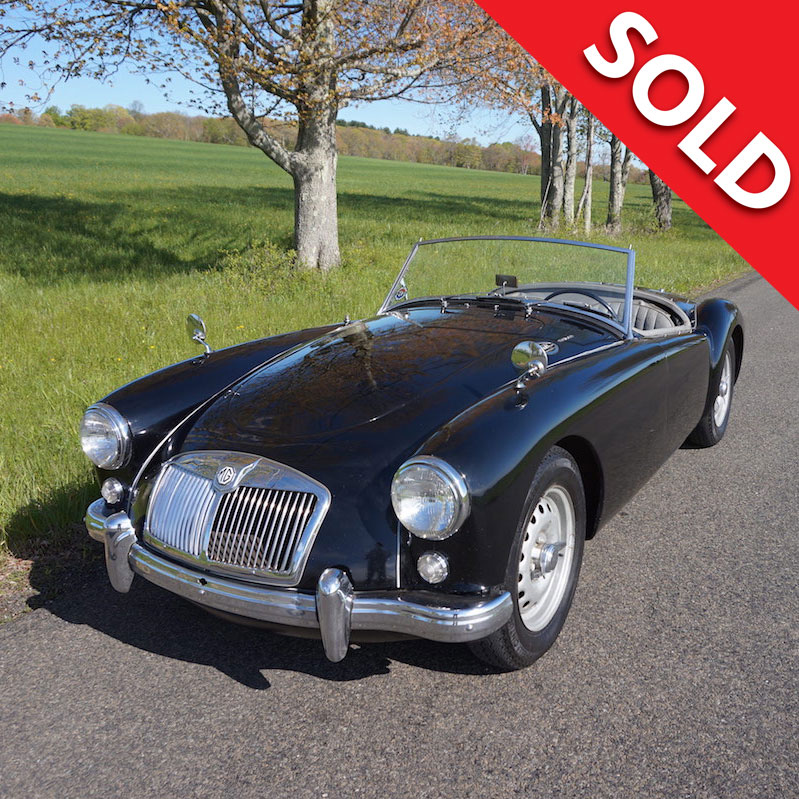 SOLD – 1959 MGA Twin Cam roadster