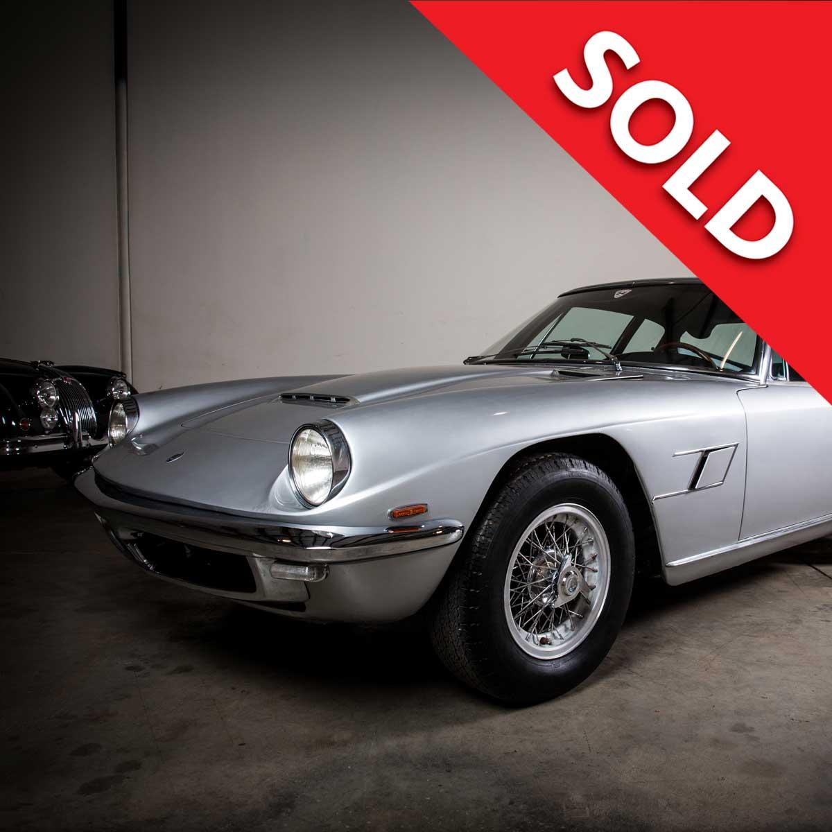 Sold – 1966 Maserati Mistral