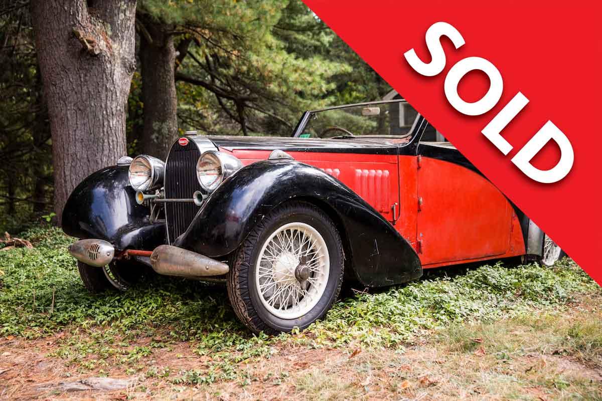 SOLD Bugatti T57 Stelvio by Gangloff