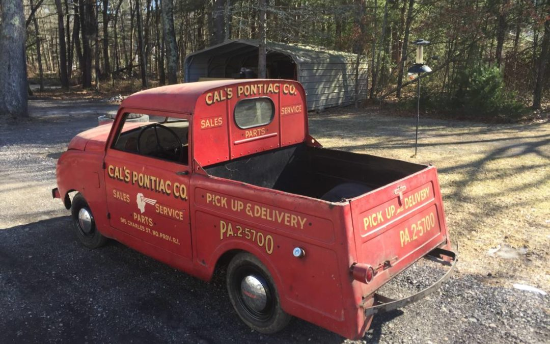 1948 Crosley Pickup in its original livery!