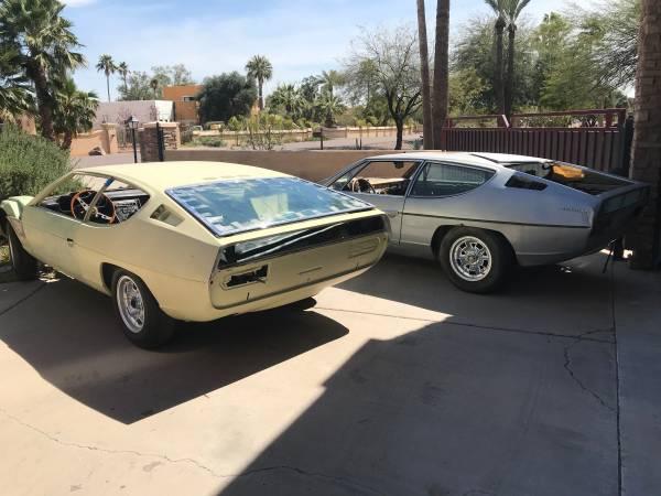 2 Lamborghini Espadas for the price of 1!