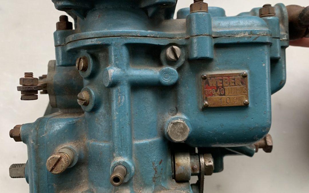Anyone missing a carburetor for their Ferrari 340 Mexico??