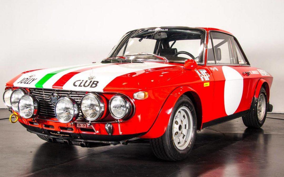 """1970 Lancia Fulvia HF 1600 """"Fanalone"""" Jolly Club"""