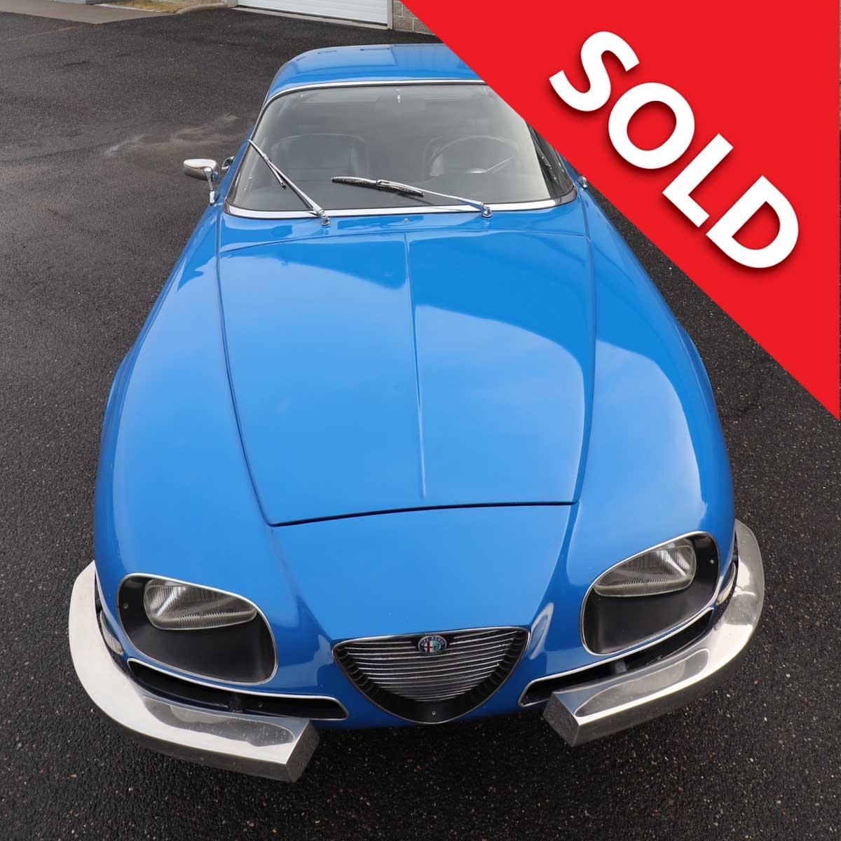 Sold – 1968 Alfa Romeo 2600SZ