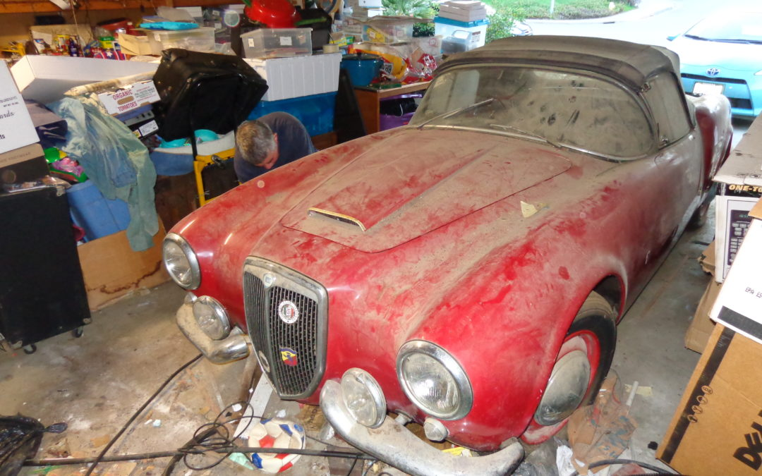 Lancia Aurelia Spyder America: An old friend comes to life again
