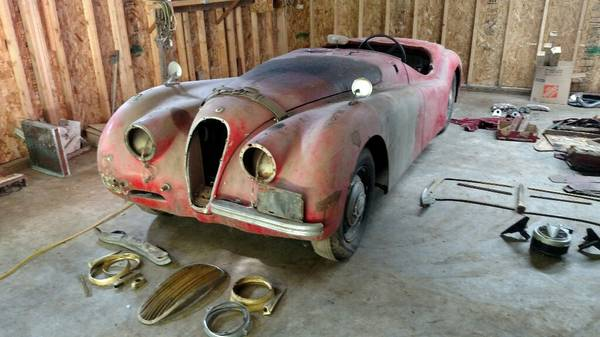 1952 Jaguar XK120 Roadster Project