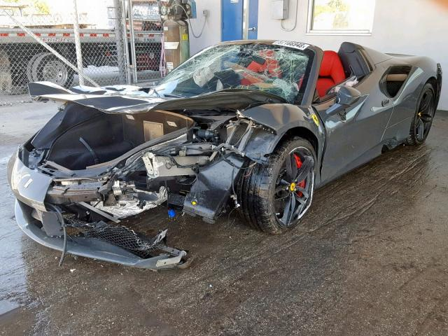 Crash Test: Ferrari 488 Spider Copart