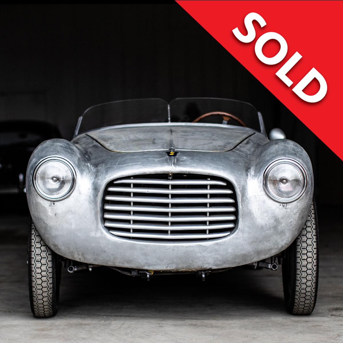 Sold – 1955 Siata 300BC ST448BC