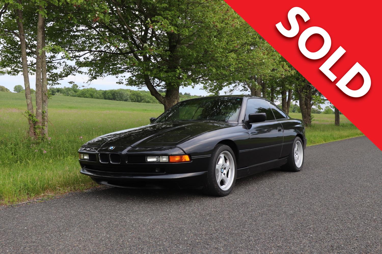SOLD 1994 BMW 850CSi