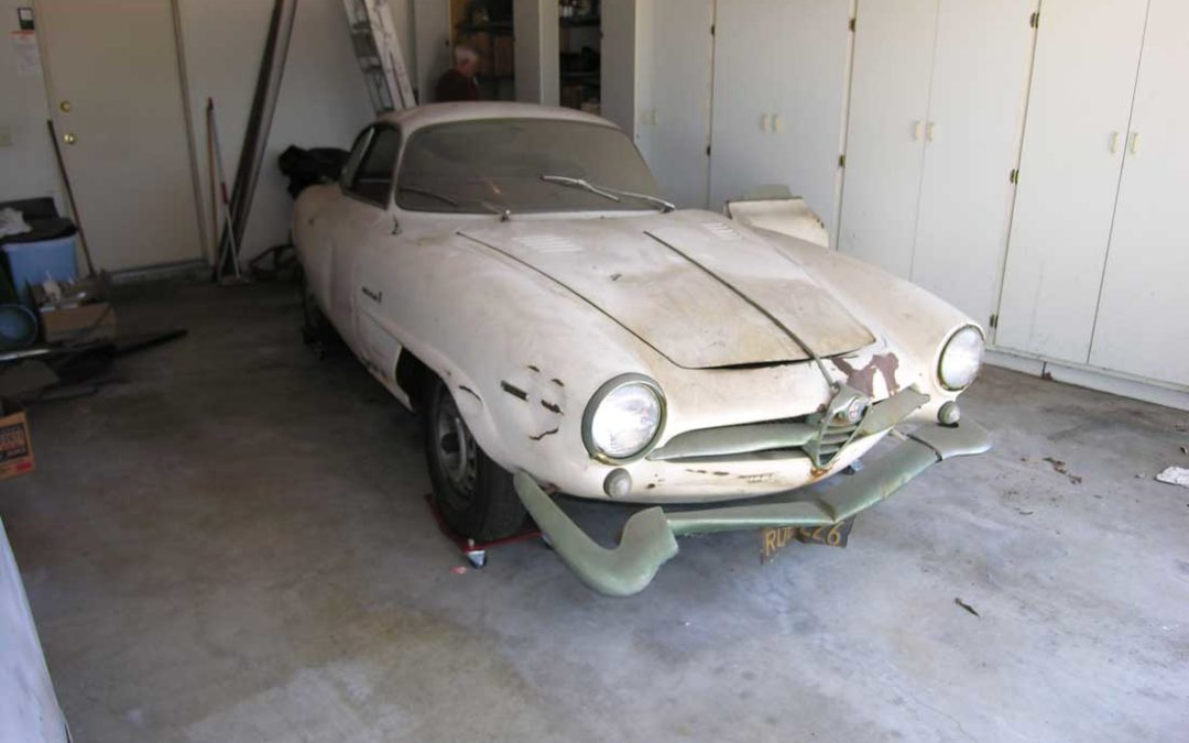 Before and After: 1965 Alfa Romeo Sprint Speciale