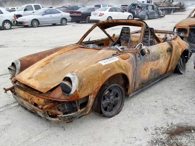 Burnt to a crisp: 1985 Porsche 911