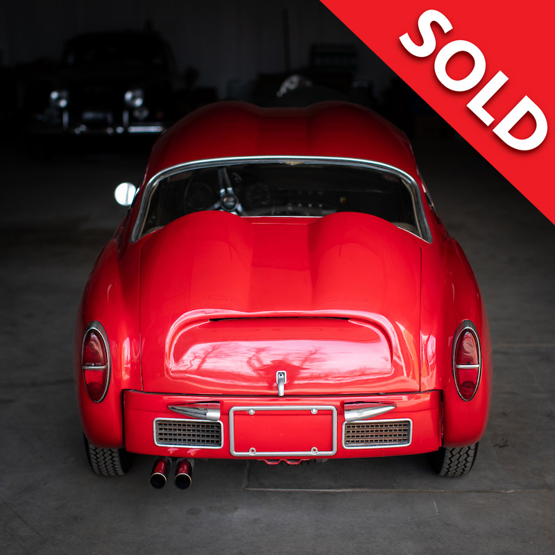 SOLD -1959 Fiat Abarth 750 Zagato double bubble