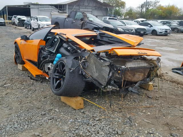 Airbags did not deploy: 2008 Lamborghini Murcielago