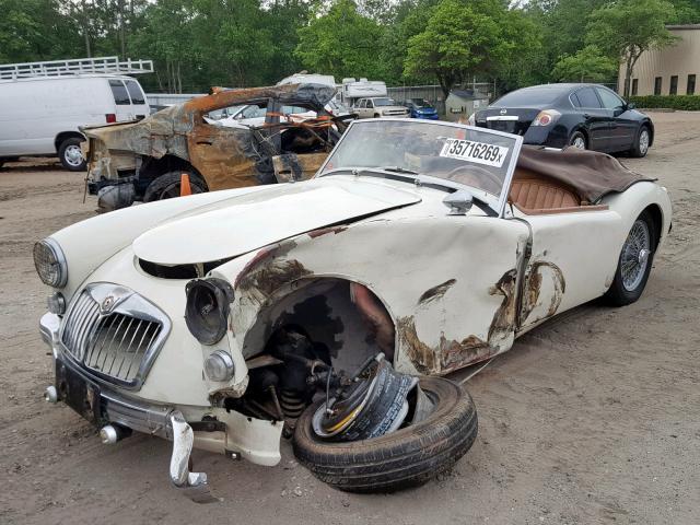 Side Swiped? 1960 MG MGA