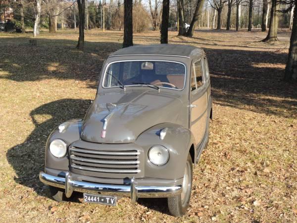 1952 Fiat Topolino Giardiniera Belvedere