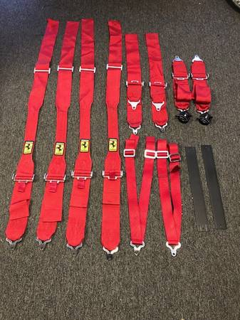Ferrari Scuderia Factory 5 Point Racing Harness