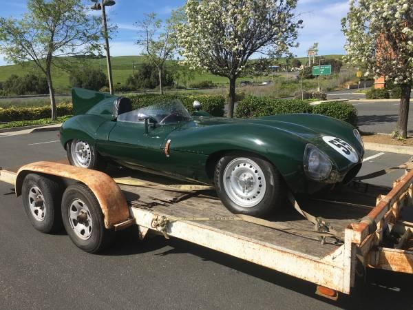 1955 Jaguar D-Type Recreation