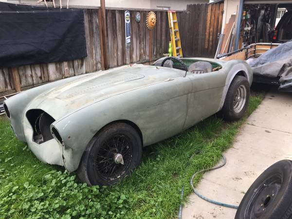 Barn Find: 1954 Austin Healey 1954 100/4