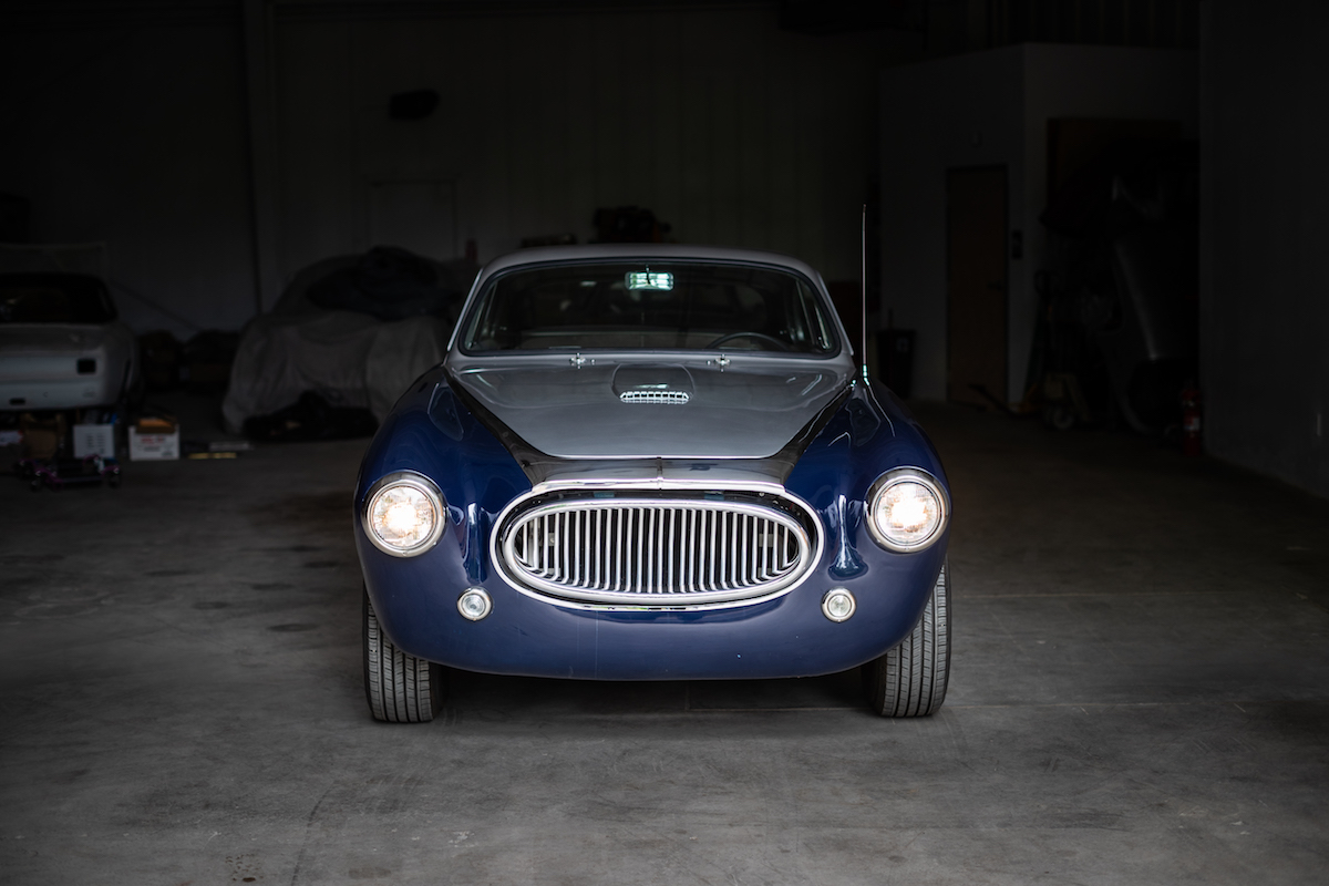 1954 Cunningham C3 Coupe.  A very rare and desirable project.