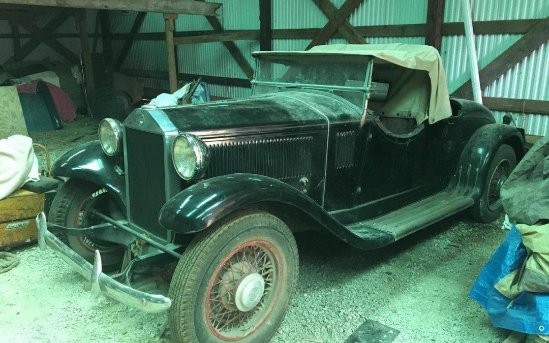 1932 Lancia Artena Spider – Brianza Coachwork