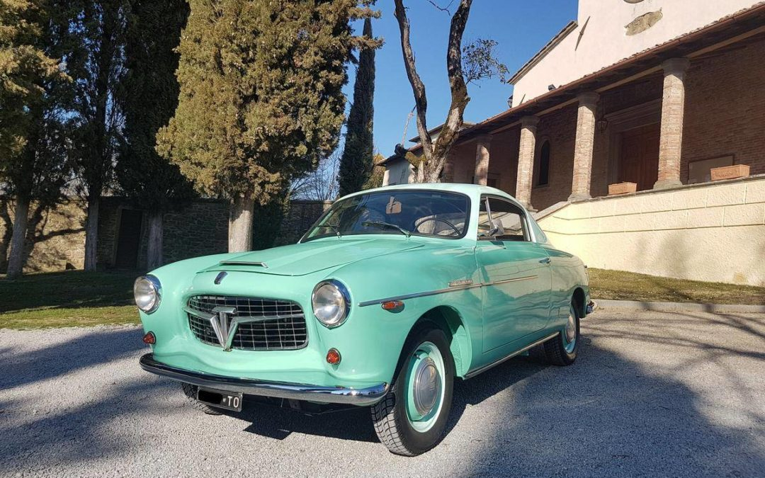 1954 Fiat 1100TV TV Coupè Pininfarina