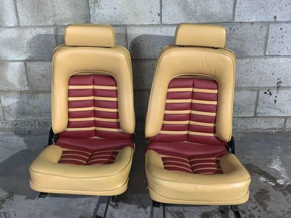 Ferrari 512BB Seats