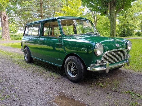 1967 Austin Mini Countryman MKI