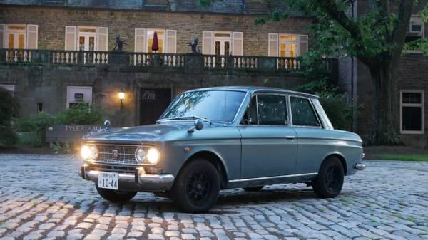 Pininfarina Designed: 1965 Datsun Nissan Bluebird 410/411