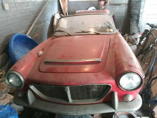 1960 Fiat 1500 Barn Find