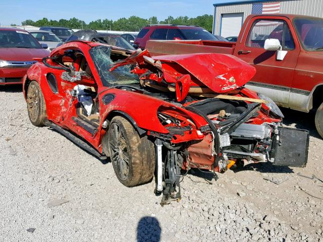 See how they smash: 2014 Porsche 911 Turbo