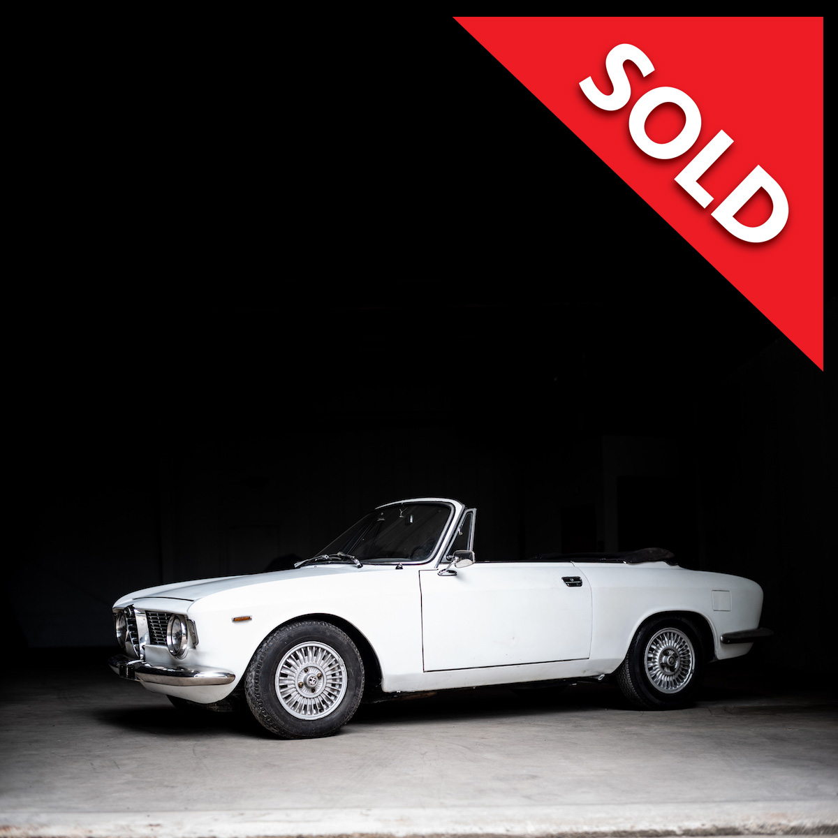 SOLD – 1966 Alfa Romeo GTC Project