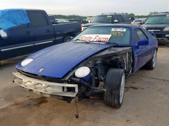Nice Spec: Crashed 1987 Porsche 928 S