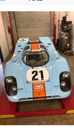 Bailey Replica 1970 Porsche 917