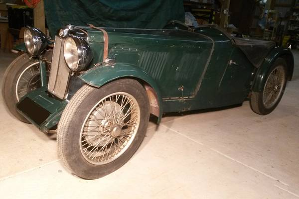1932 MG F2 Garage Find