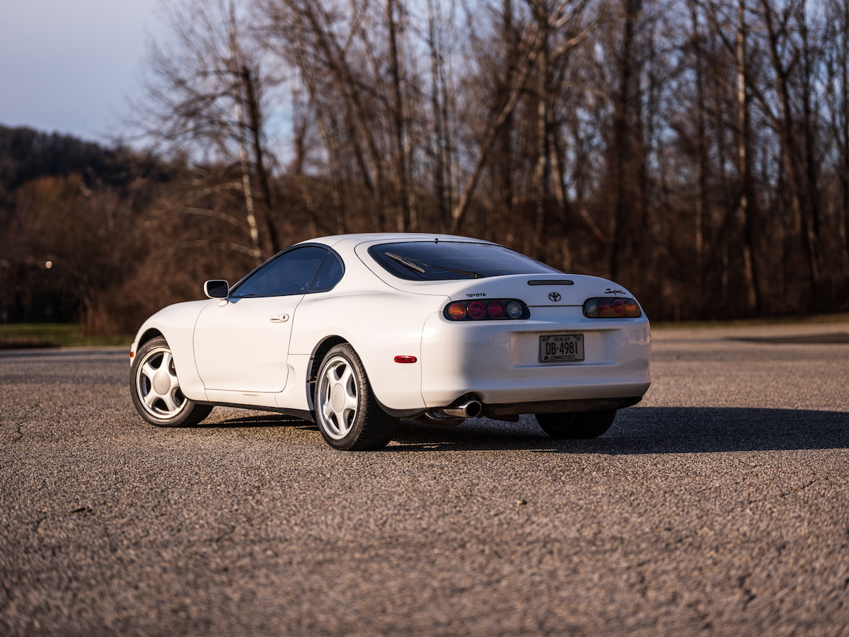 1993 Toyota Supra. Twin Turbo, 6 speed. All original.
