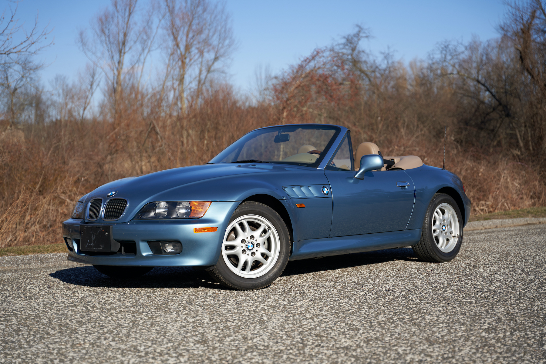 7,600 miles from new.  James Bond edition.  BMW Z3 Roadster.