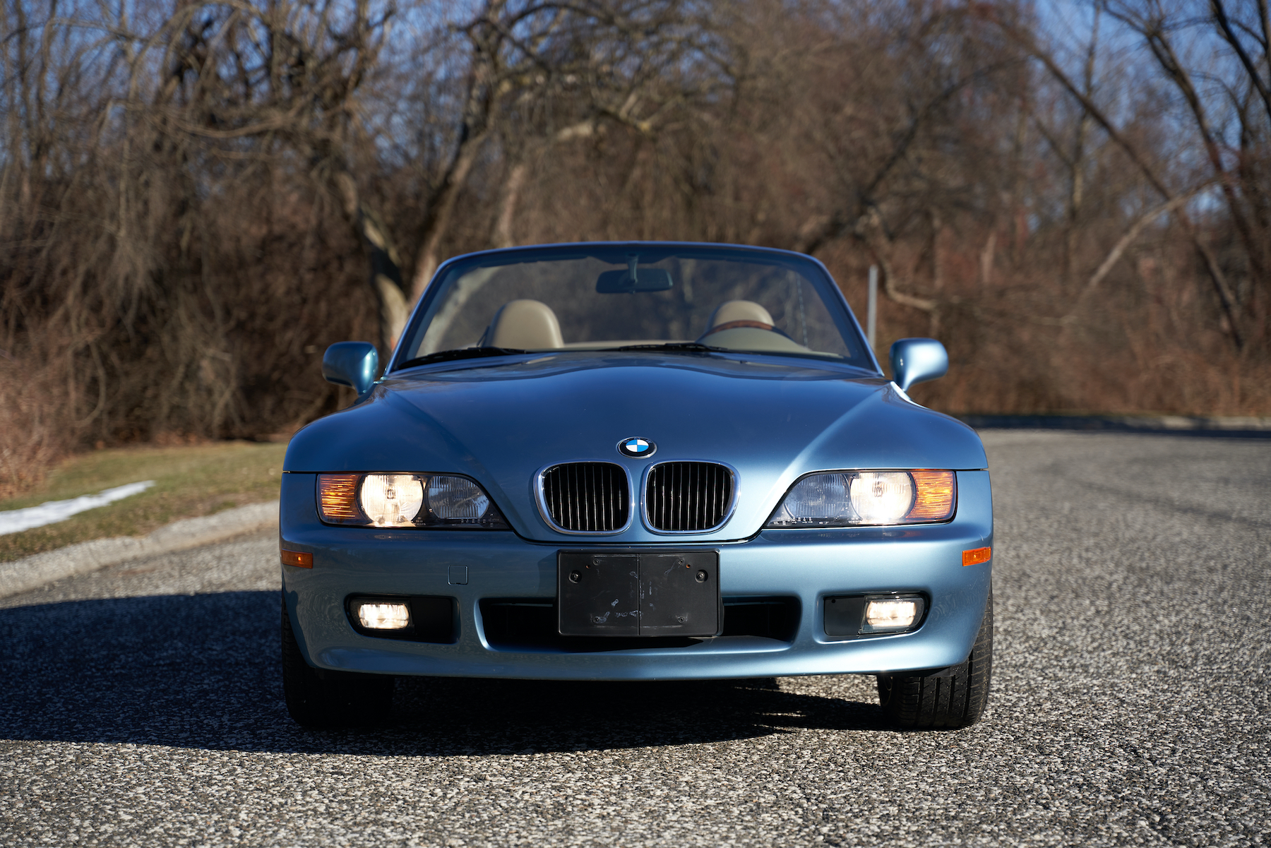 Sold 7 600 Miles From New James Bond Edition Bmw Z3 Roadster Rapley Classic Cars Llc