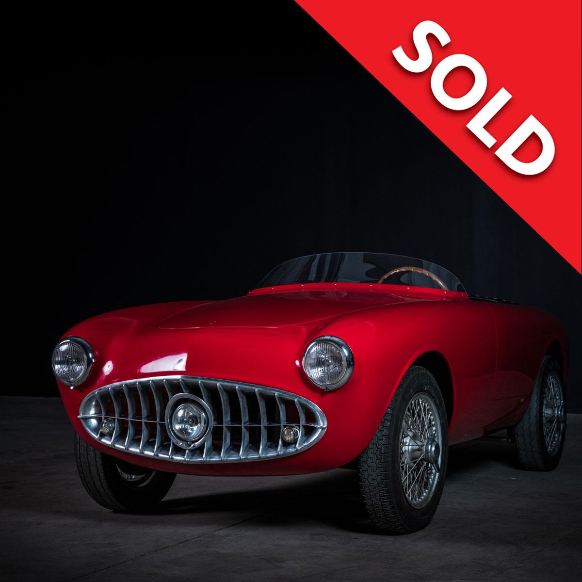 Sold  – 1953 Nardi 750 Frua