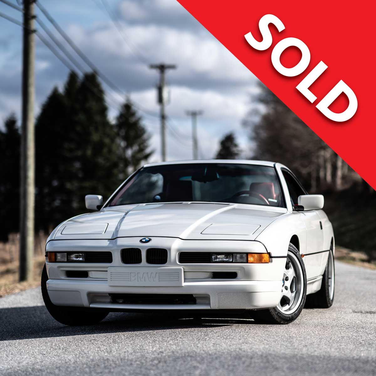 SOLD – 1995 BMW 850CSi – Individual
